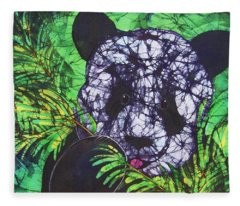 Panda Snack Fleece Blanket