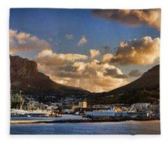 Table Mountain Fleece Blankets