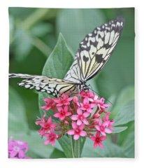 Paper Kite Butterfly - 2 Fleece Blanket