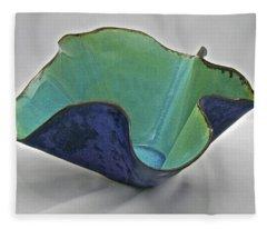 Paper-thin Bowl  09-006 Fleece Blanket