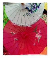 Parasols 1 Fleece Blanket