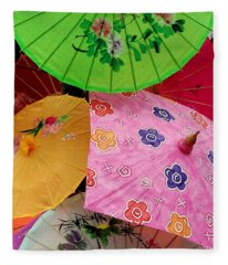 Parasols 2 Fleece Blanket