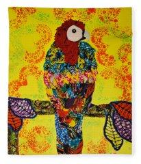 Parrot Oshun Fleece Blanket