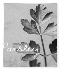 Parsley Fleece Blanket