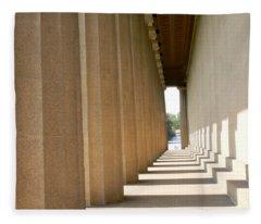 Parthenon1 Nashville Tn Fleece Blanket