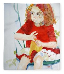 Party Girl Fleece Blanket
