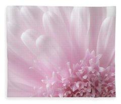 Pastel Daisy Fleece Blanket