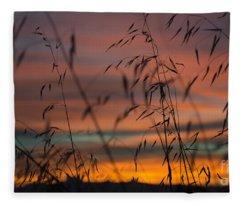 Pastel Moment II Fleece Blanket