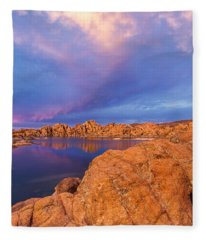 Pastel Storm Fleece Blanket