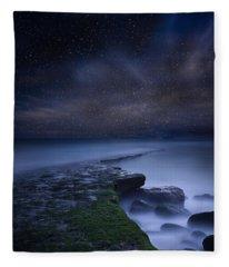Path To Infinity Fleece Blanket