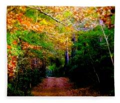 Paths We Choose Fleece Blanket