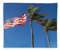 Patriot Keys Fleece Blanket