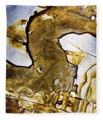 Patterns In Stone - 153 Fleece Blanket