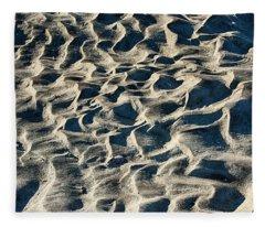 Patterns In Sand 1 Fleece Blanket
