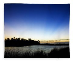 Peace Fleece Blanket
