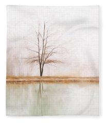 Peacefulness Fleece Blanket