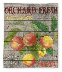 Peaches-jp2676 Fleece Blanket