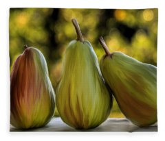 Pear Buddies Fleece Blanket