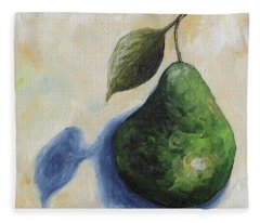 Pear In The Spotlight Fleece Blanket