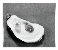 Pearl On Oyster Shell Fleece Blanket