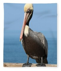 Pelican - 3  Fleece Blanket