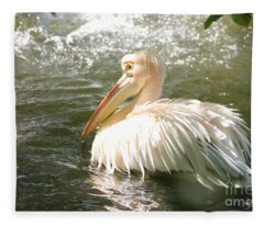 Pelican Bath Time Fleece Blanket