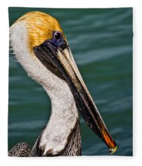 Pelican Profile No.40 Fleece Blanket