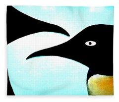 Penquin Love Fleece Blanket