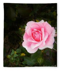 Personally Pink Fleece Blanket