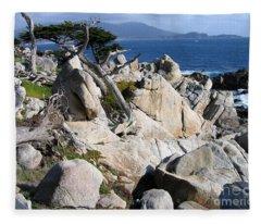 Pescadero Point Fleece Blanket