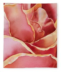 Petals Petals IIi Fleece Blanket