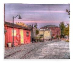 Petaluma Morning Fleece Blanket
