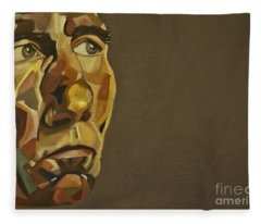 Pete Postlethwaite Fleece Blanket