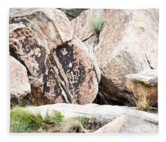 Petroglyph Fleece Blanket