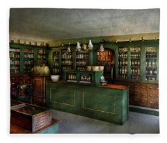 Pharmacy - The Chemist Shop  Fleece Blanket