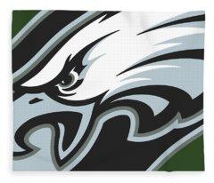 Philadelphia Eagles Football Fleece Blanket