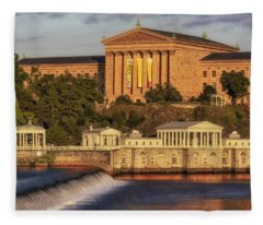 Philadelphia Museum Of Art Fleece Blanket