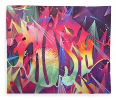Phish The Mother Ship Fleece Blanket