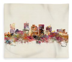Phoenix Arizona Fleece Blanket