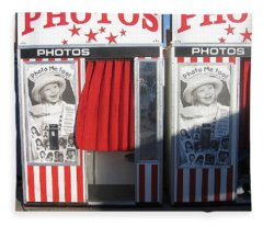 Photo Booth Pinal County Fair Eleven Mile Corner Arizona 2005 Fleece Blanket