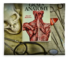 Physician - Tools Of The Trade Fleece Blanket