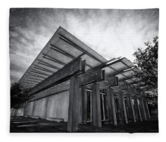Piano Pavilion II Fleece Blanket