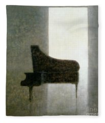 Piano Room 2005 Fleece Blanket
