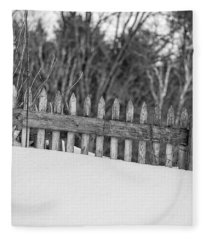 Picket Fence Fleece Blanket