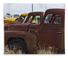 Pickup Cabs 2 Fleece Blanket