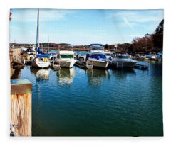 Pier Pressure - Lake Norman Fleece Blanket