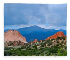 Pikes Peak Fleece Blanket