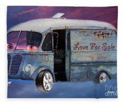 Pin Up Cars - #2 Fleece Blanket
