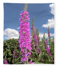 Pink Brilliance Fleece Blanket