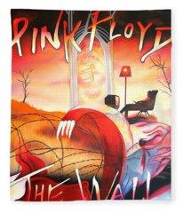 Pink Floyd The Wall Fleece Blanket